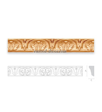 Antique style wooden moulding for c...