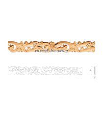 Pierced Gothic style moulding for i...