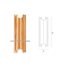 Gothic style wooden onlay for wall ...