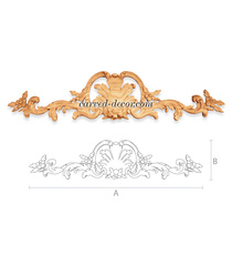Classical style ornamental floral c...