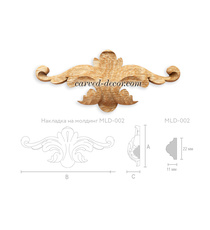 Victorian-style decorative onlay fo...