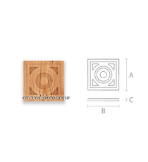 Unpainted decorative element for in...