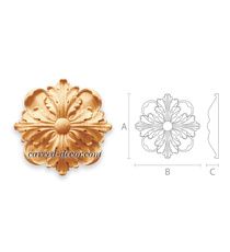 Classical style ornamental floral r...