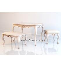Antique carved table legs...