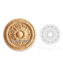 Large Classic style round ceiling r...