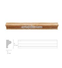 Universal wooden moulding, Oak panel moulding