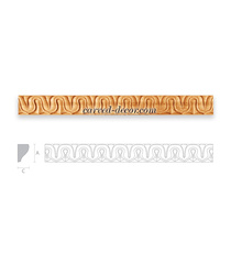 Classic carved moulding for interio...