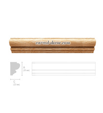 Carved door moulding, Classic wooden moulding