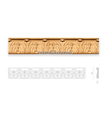 Victorian moldings for kitchen cabinets