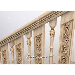 Custom made wood balusters designs