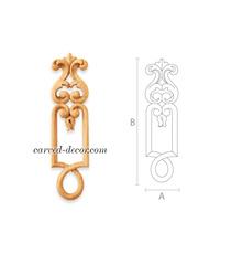 Handcrafted Classic style pilaster ...
