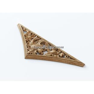 Architecture wood appliques for mantel