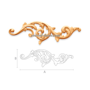 Artistic appliques and onlays for fireplace