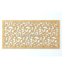 Classic style openwork muntin for w...