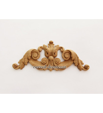 Classical furniture applique with a...