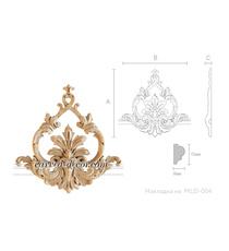 Ornate wood onlays