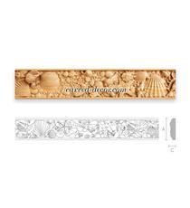 Decorative hardwood mouldings for kitchen cabinets