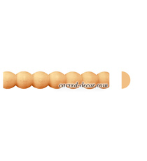 Hardwood classic style beads furniture moulding