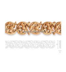 Decorative hardwood mouldings for w...
