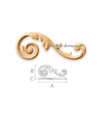Long acanthus decorative onlay for ...