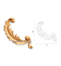 Decorative handcrafted Acanthus scr...