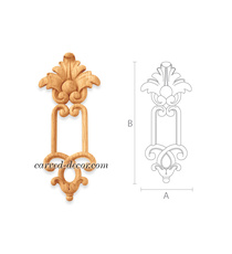 Decorative Victorian style wooden a...