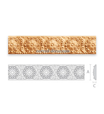 Wide antique style mouldings with f...