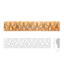Antique style interior moulding fro...