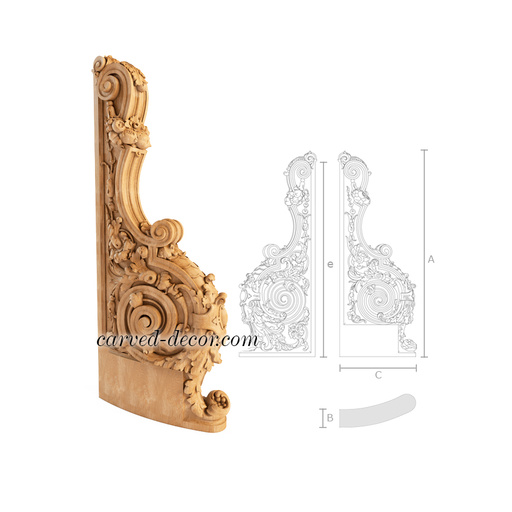 Ornamental wood newel posts for sale
