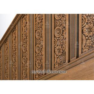 Antique wooden balustrade designs
