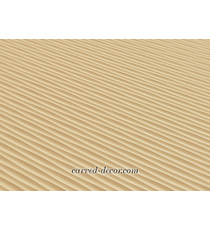 Large horizontal textured panel for...