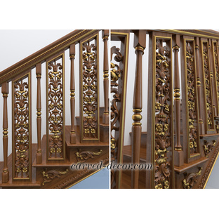 Architectural stair balusters designs