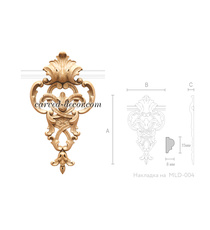 Decorative furniture appliques for ...
