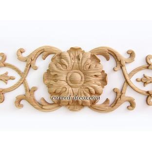 Decorative oak appliques