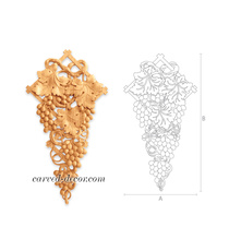 Hardwood grapevines applique for in...