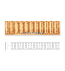 Ornate Clasic style moulding for fu...