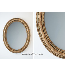 Baroque style mirror frame with lau...