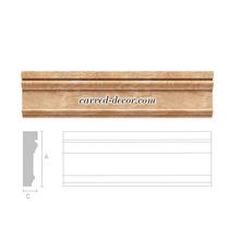 Hardwood interior moulding, Door/Window casing
