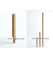 Vintage dining room wood table legs