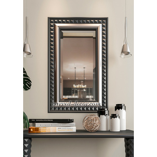 Decorative wood carving mirror frame