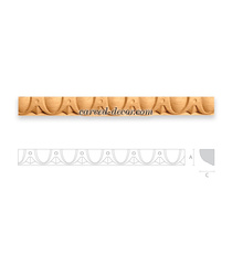 Handcrafted Greek ionic moulding fo...