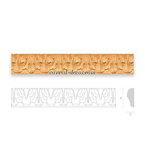 Custom made hardwood mouldings for doors