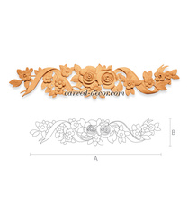 Ornate appliques and onlays for sale