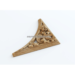Decorative wood appliques