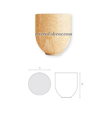 Decorative wooden furniture feet buy - wooden carved furniture parts