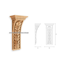 Unfinished Neoclssical-style corbel...